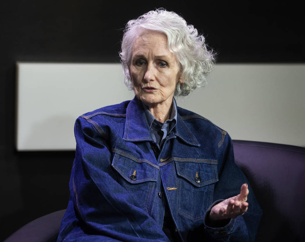 Margaret Rudin at the Las Vegas Review-Journal on Friday, Jan. 10, 2020, hours after being rele ...