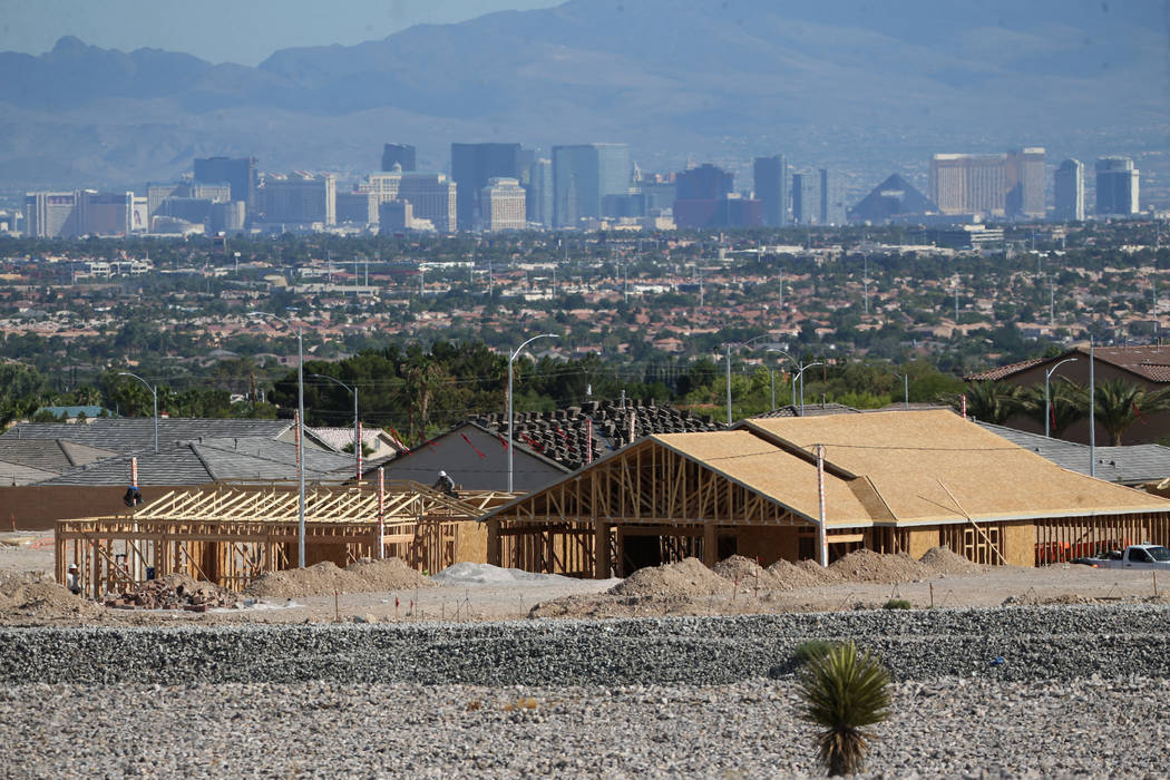 Forecast for Las Vegas' housing market in 2020 remains ... on