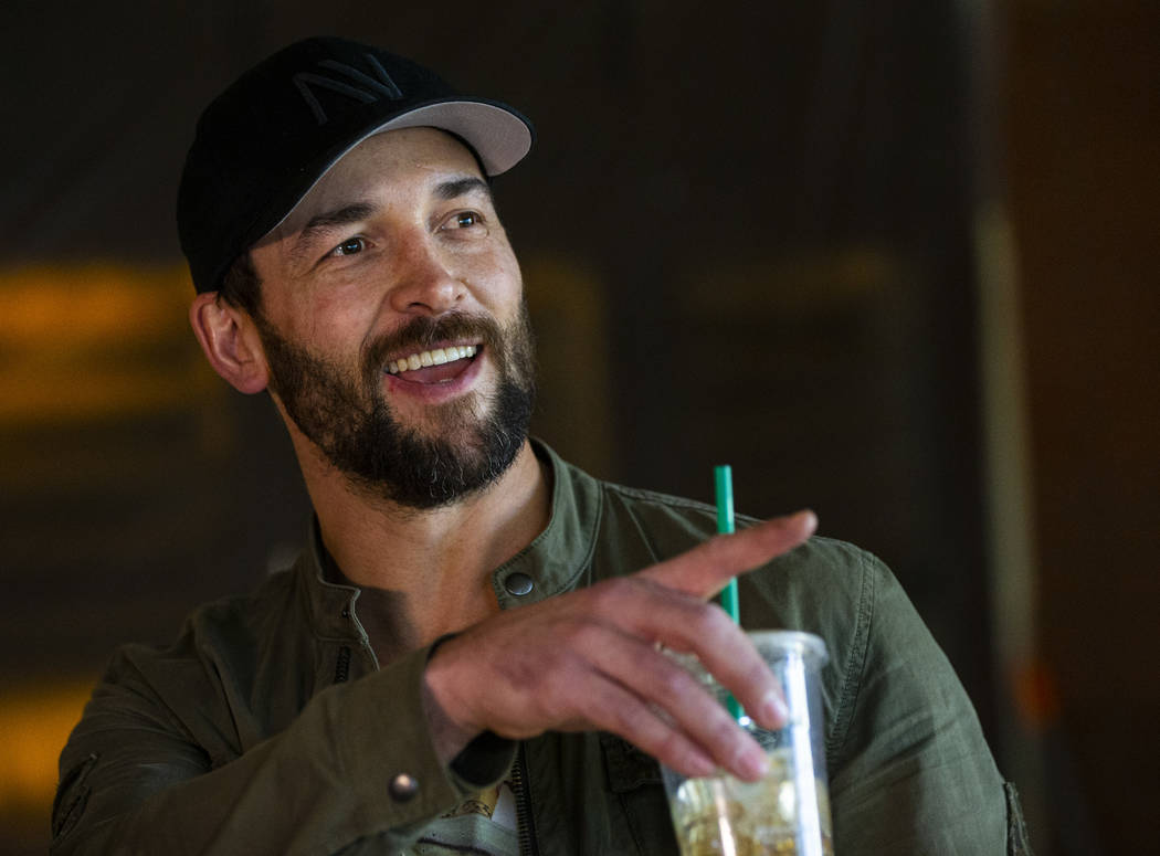 Golden Knights' Deryk Engelland talks about the space that will become the Wolfgang Puck Player ...