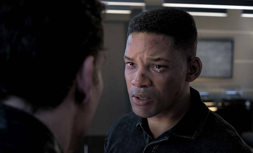 "This image released by Paramount Pictures shows Will Smith as Junior in a scene from ""Gemi ..."