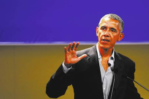 Former President Barack Obama. (AP Photo/Luca Bruno)