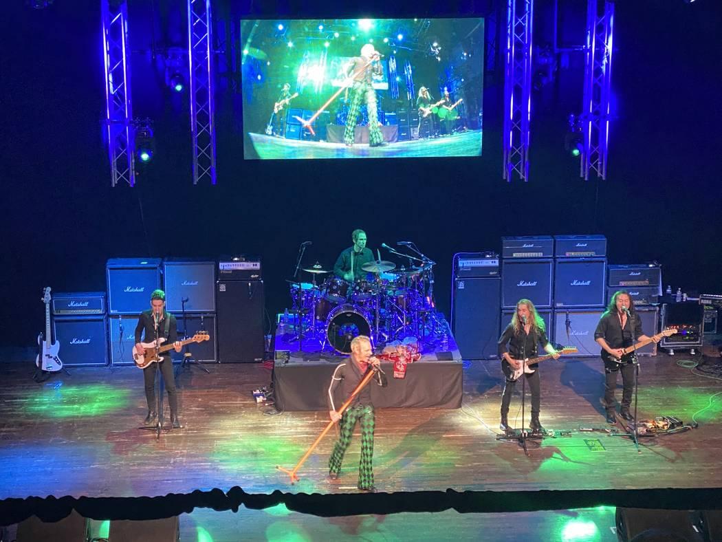 David Lee Roth performs at House of Blues at Mandalay Bay on Friday, Jan. 10, 2020. (John Katsi ...