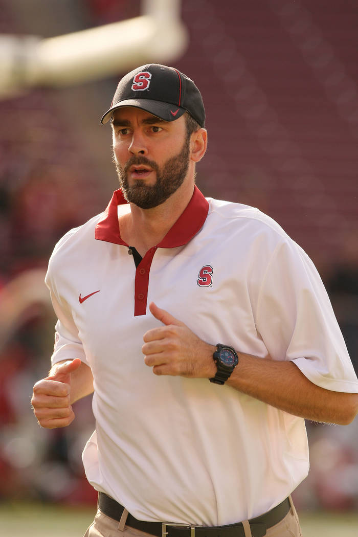 Stanford Cardinal Peter Hansen (LBC) during a game against the Utah Utes on November 15, 2014 a ...