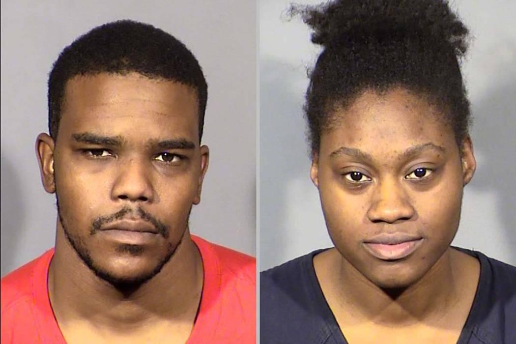 Jecory Kemp and Tyeshia James (Las Vegas Metropolitan Police Department)