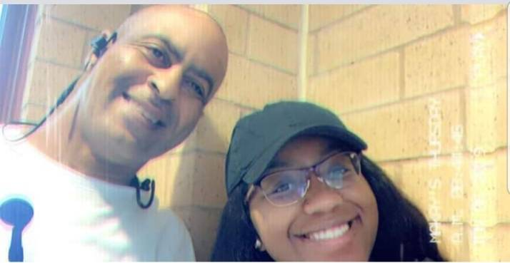 Randall Johnson poses with his daughter, 18-year-old Makayla Johnson. Family members identified ...