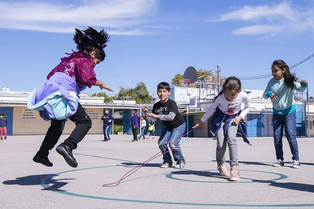 HopSkipDrive, a ride-haling service aimed at children, kicked off last week in the Las Vegas Va ...