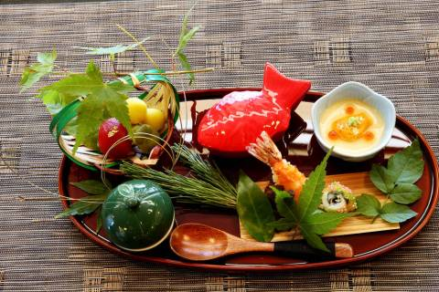 The Zensai at Kaiseki Yuzu in Las Vegas Monday, May 7, 2018. K.M. Cannon Las Vegas Review-Journ ...
