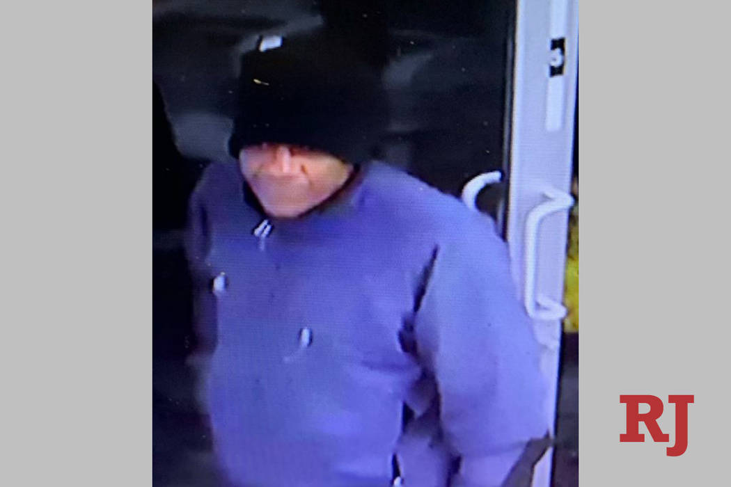 Police are looking for a man in connection to a robbery Monday, Dec. 23, 2019, at a business ne ...