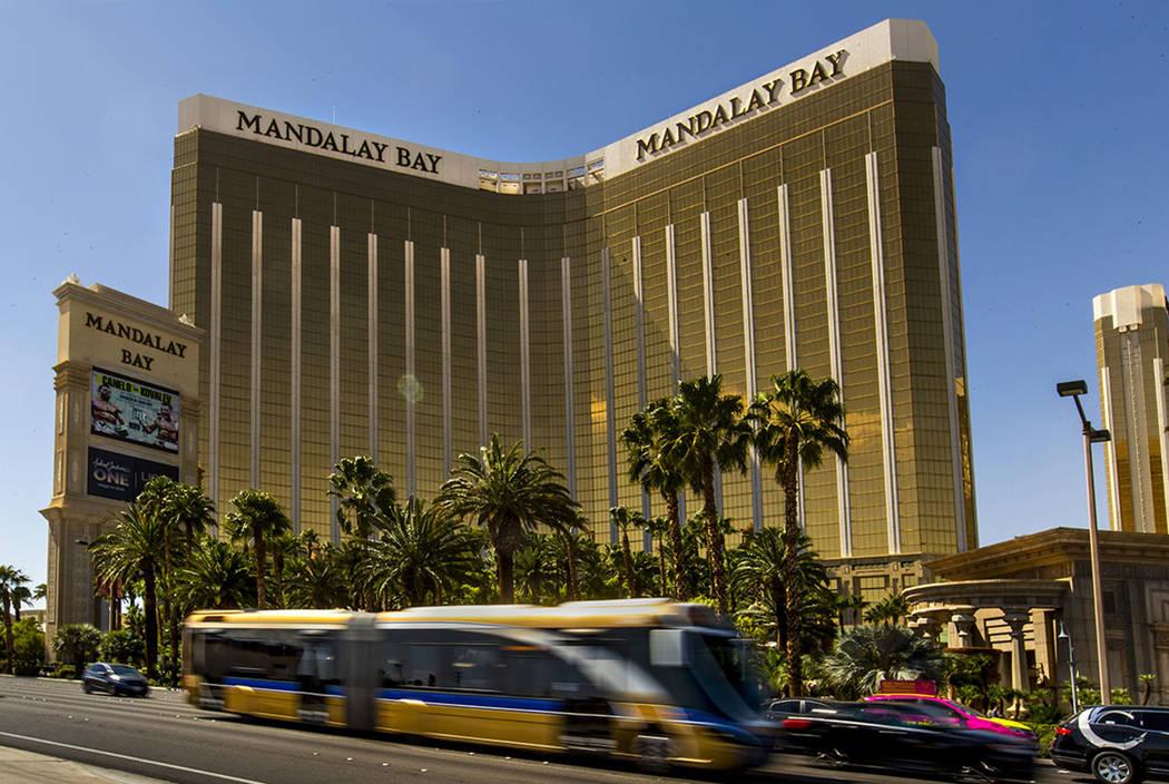 Las Vegas Strip Blackstone Buys Mgm Properties In 4 6b Deal Las Vegas Review Journal