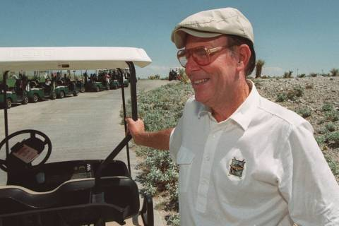 Pete Dye (Las Vegas Review-Journal file)