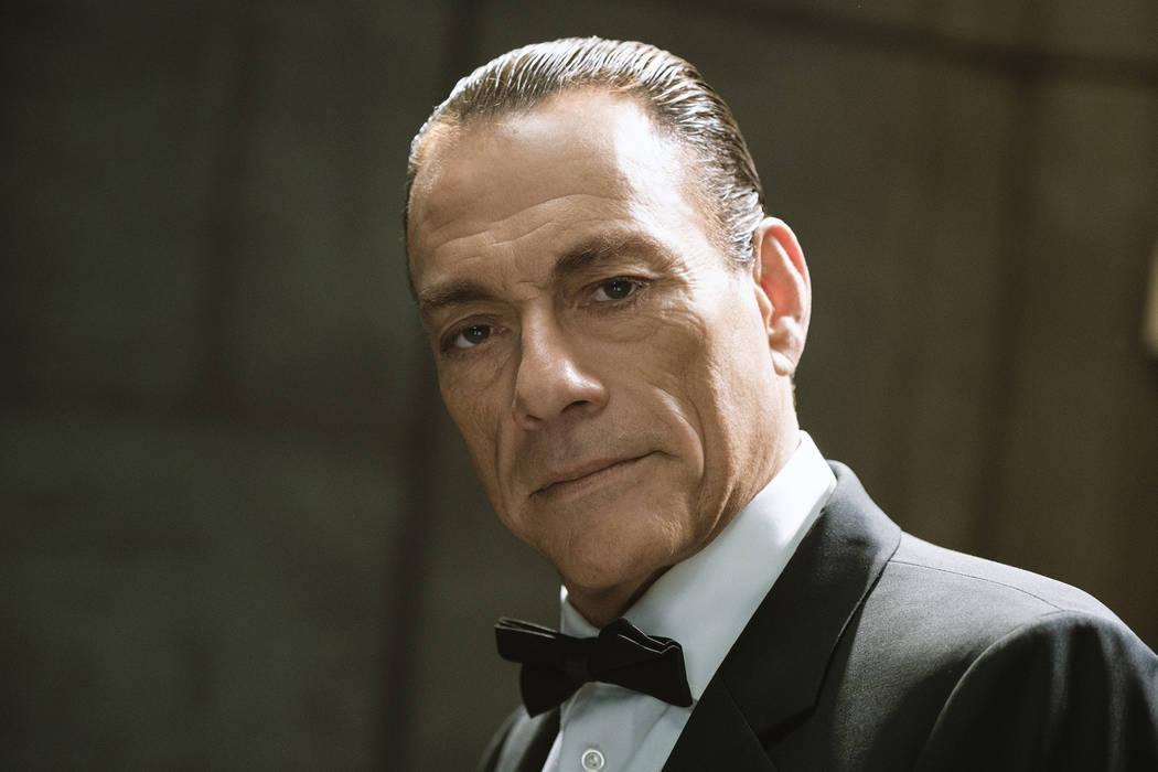 """Jean-Claude Van Damme as Jean-Claude Van Damme/Johnson in """"Jean-Claude Van Johnson."""" ..."""