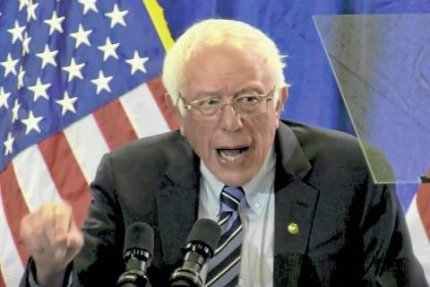 Bernie Sanders. (Las Vegas Review-Journal)