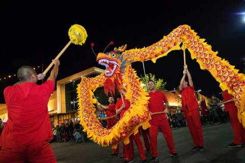 Lunar New Year takes center stage at Downtown Summerlin on Jan. 25 at 6 p.m. (Summerlin)