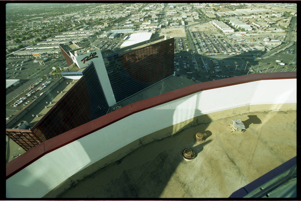 This 1997 file photo shows the exterior of the Rio which has begun a $200 million expansion to ...