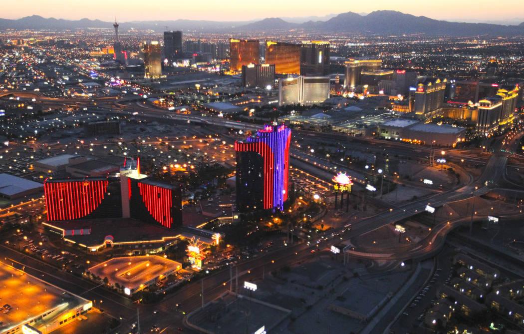 In this June 15, 2012, file photo shows the Rio hotel-casino in Las Vegas. (Las Vegas Review-Jo ...
