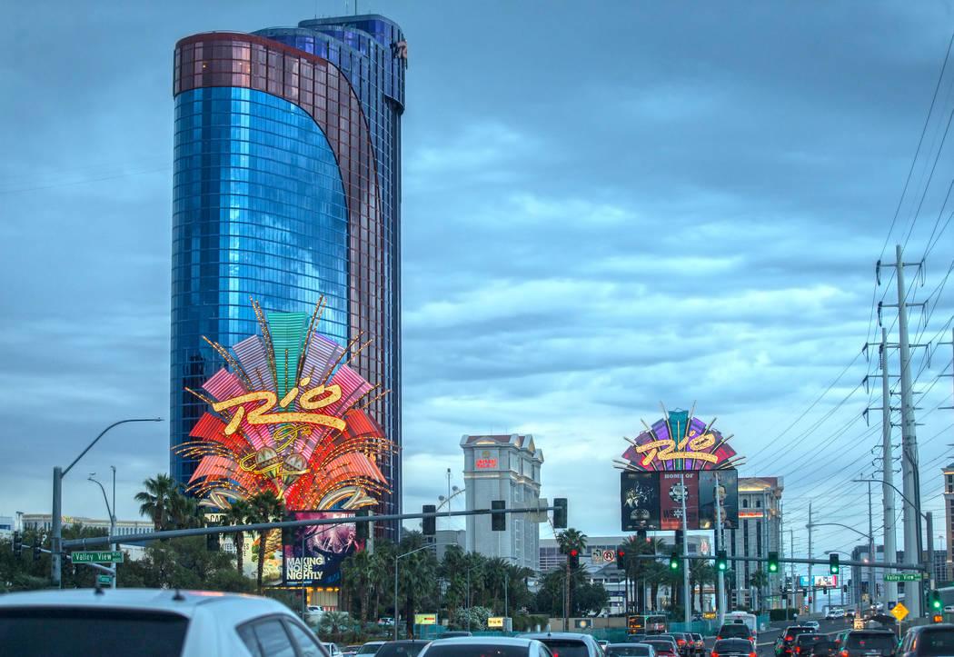 Rio on Thursday, May 9, 2019, in Las Vegas. (Benjamin Hager/Las Vegas Review-Journal) @Benjamin ...
