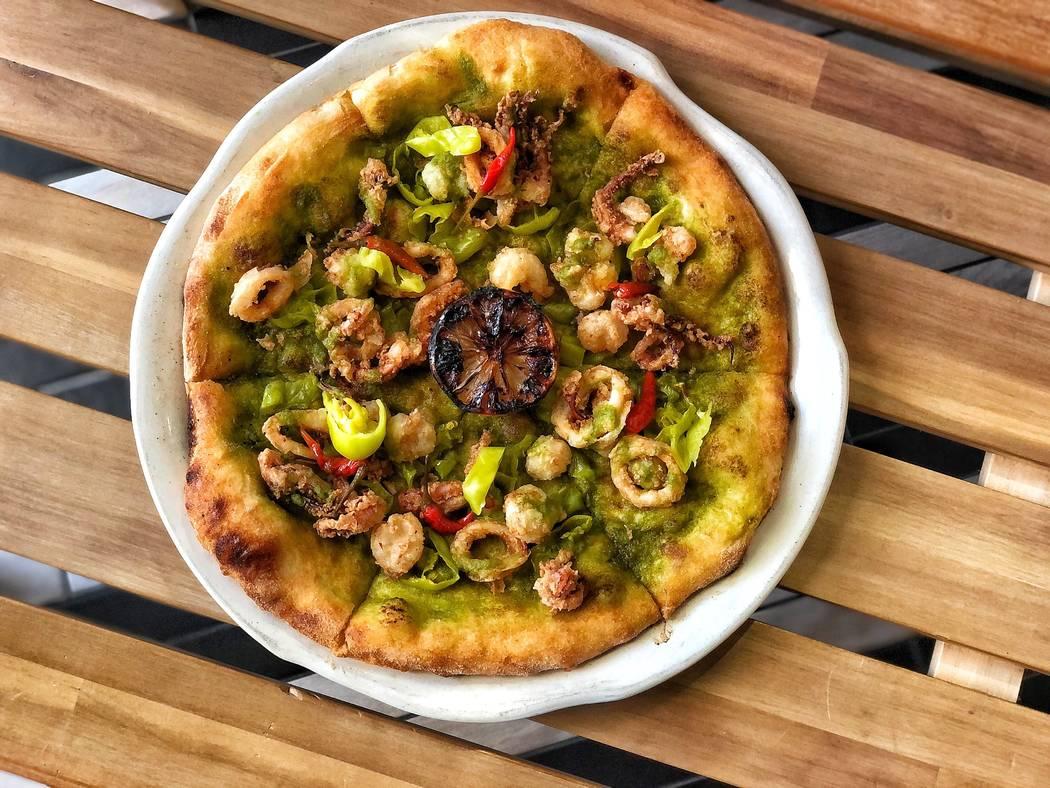 Fritto Misto Pizza at La Strega (La Strega)