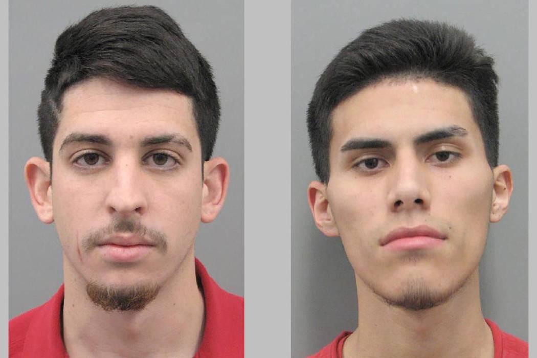 Eduardo Rosario (left) and Brian Vergara. (Henderson Police Department)