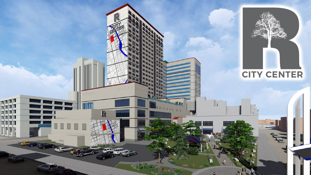 A rendering of the Reno City Center. (Courtesy, Chris Beavor)