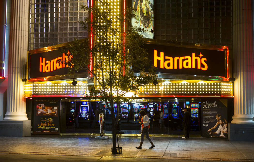 Harrahs Reno in downtown Reno. (Chase Stevens/Las Vegas Review-Journal) @csstevensphoto