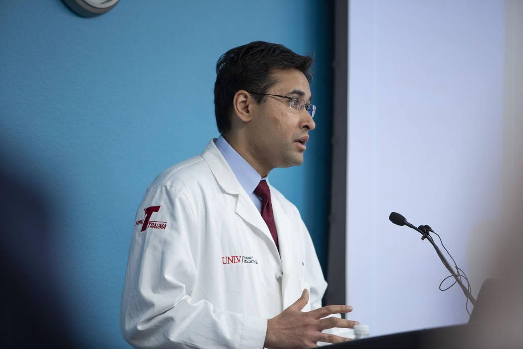 UMC Lions Burn Care Center medical director Dr. Syed Saquib shares his gratefulness for the eme ...