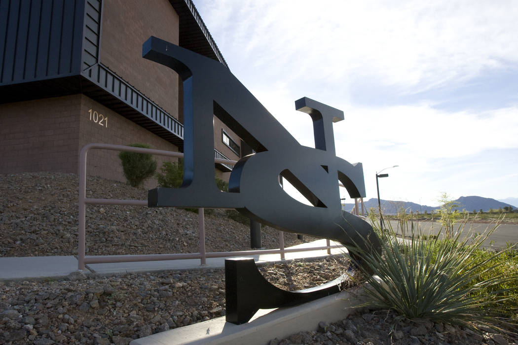 The Nevada State College Liberal Arts & Sciences Building. (K.M. Cannon/Las Vegas Review-Journal)