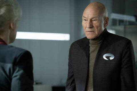 Patrick Stewart as Jean-Luc Picard of the CBS All Access series STAR TREK: PICARD. Photo Cr: Tr ...