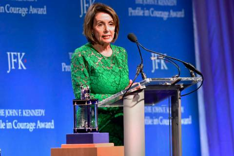 Speaker of the House Nancy Pelosi, D-Calif. (AP Photo/Josh Reynolds)