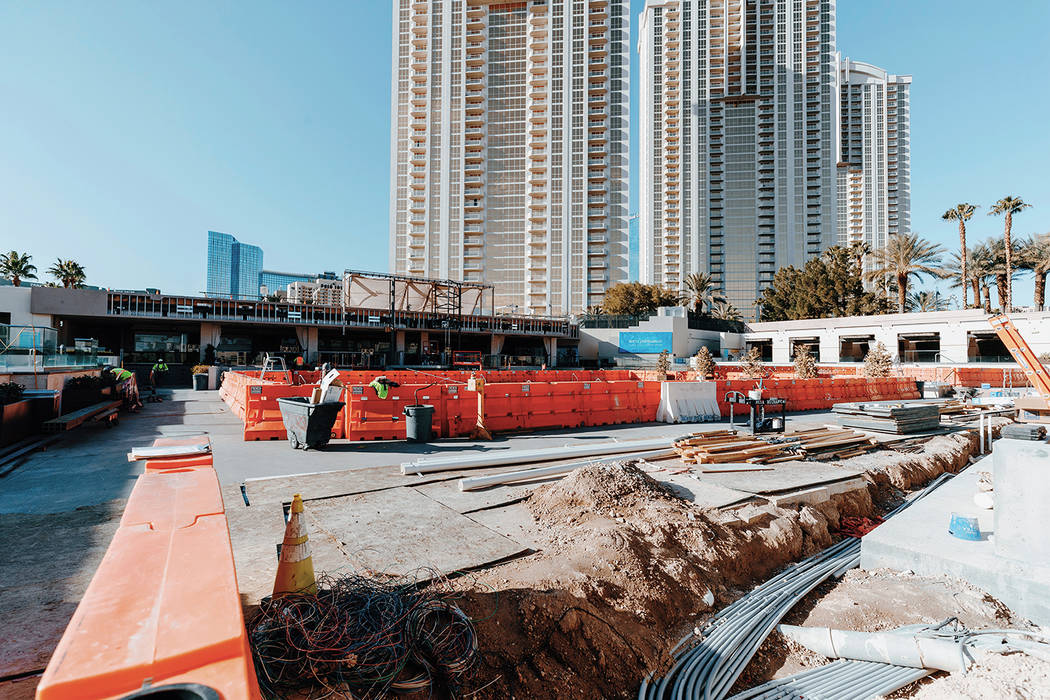 Wet Republic at MGM Grand is due for an upgrade and reopening this summer. (Wolf Productions)