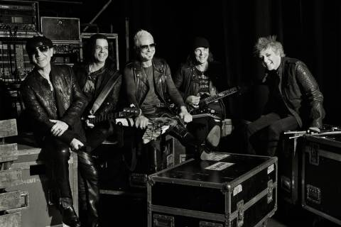 The Scorpions kick off a nine-show run at Zappos Theater at Planet Hollywood on July 4. (Scorpions)
