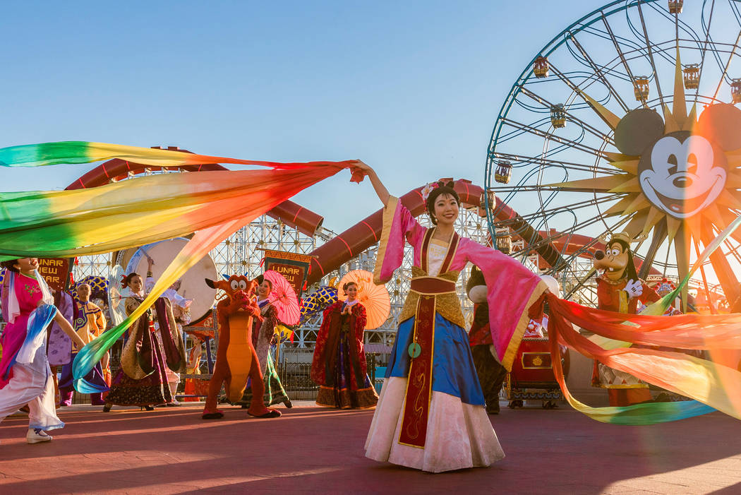 Disneyland Resort in California welcomes a year of good fortune with Lunar New Year celebration ...
