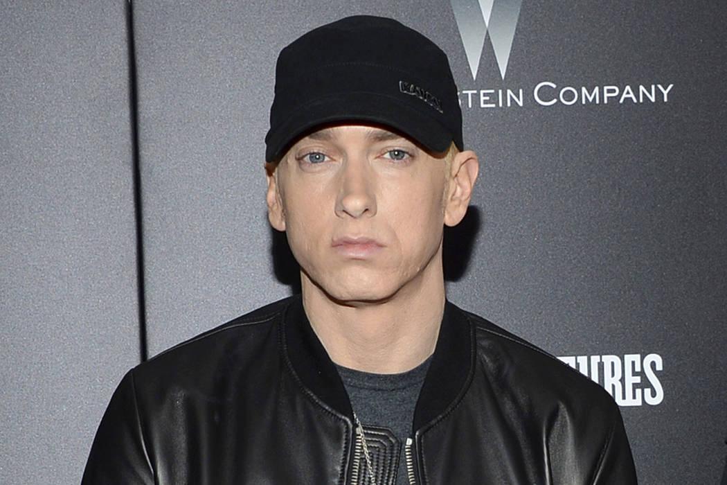 Eminem, seen in 2015. (Photo by Evan Agostini/Invision/AP)
