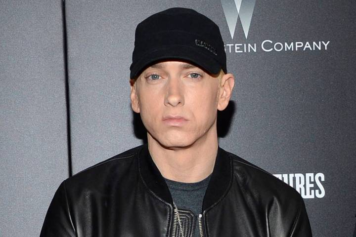 Eminem, seen in 2015. (Photo by Evan Agostini/Invision/AP)