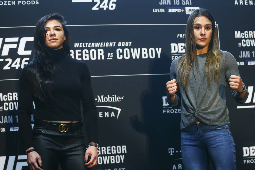 Women's strawweight bout canceled on UFC 246 card