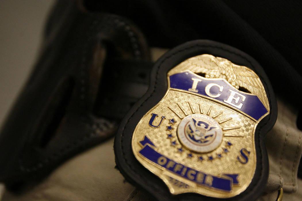 U.S. Immigration and Customs Enforcement (Francisco Kjolseth/The Salt Lake Tribune via AP)