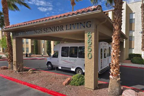 Desert Springs Senior Living, 6650 W. Flamingo Road (Google maps)