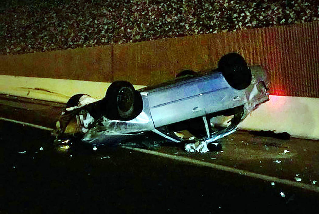 A 17-year-old girl died following a crash on the 215 Beltway in Henderson on Saturday, Jan. 18, ...