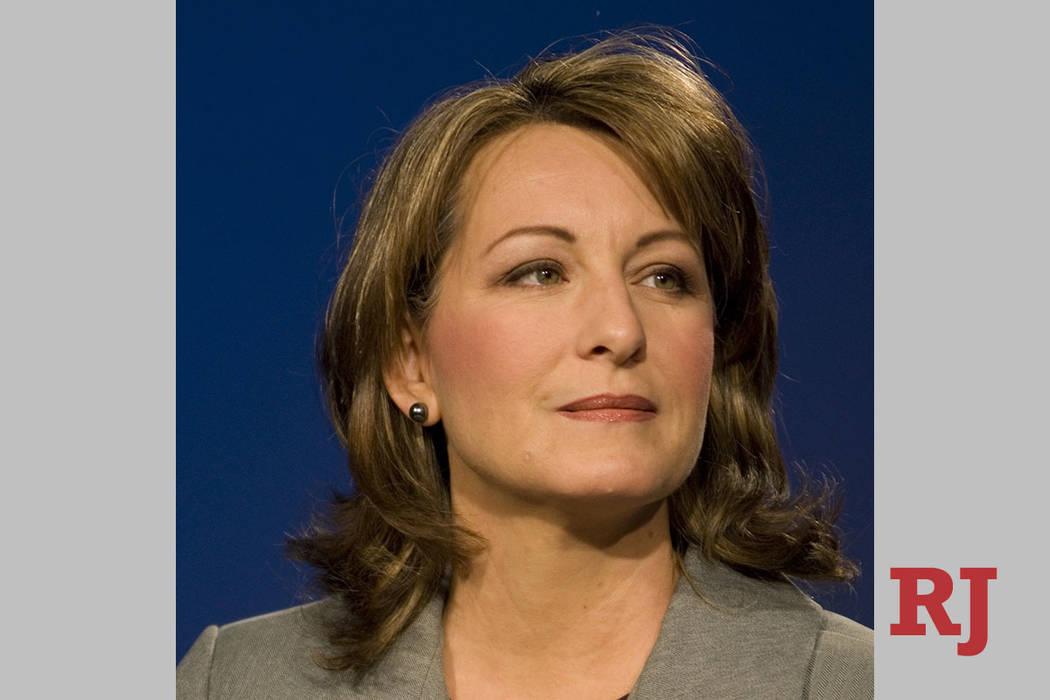 Allison Copening, seen in 2008. (Las Vegas Review-Journal, File)