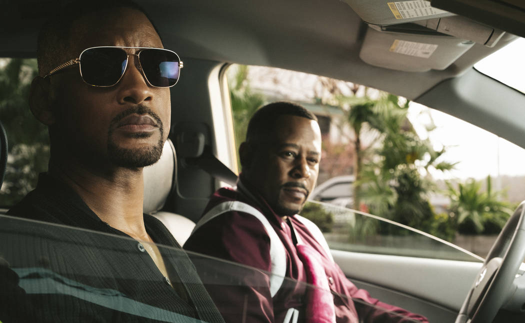This image released by Sony Pictures shows Martin Lawrence, right, and Will Smith in a scene fr ...