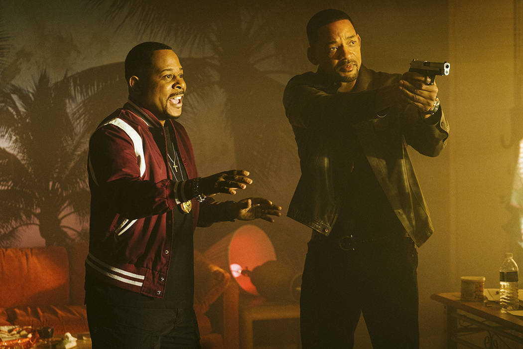 This image released by Sony Pictures shows Martin Lawrence, left, and Will Smith in a scene fro ...