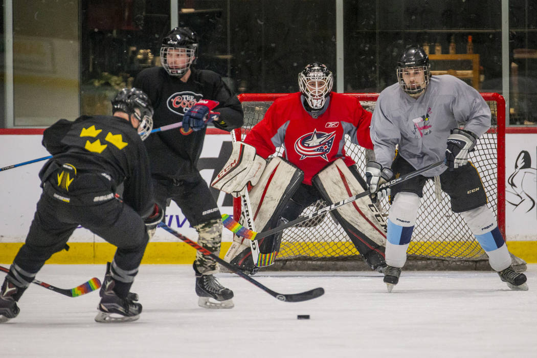 LGBTQ hockey stays up late to break down barriers