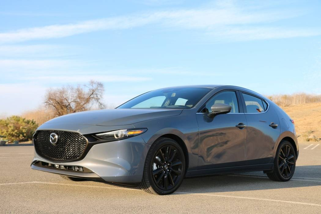 Mazda has come a long way in the past 100 years. Shown here is the 2020 Mazda3. (Mazda)