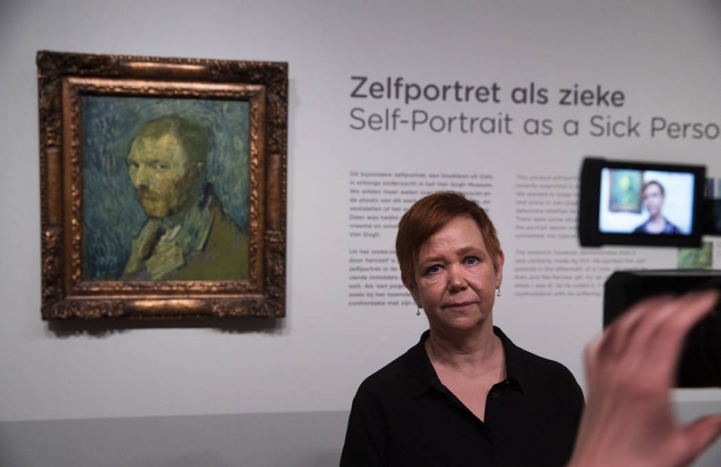 Norway's National Museum curator Mai Britt Guleng talk about the previously contested painting ...