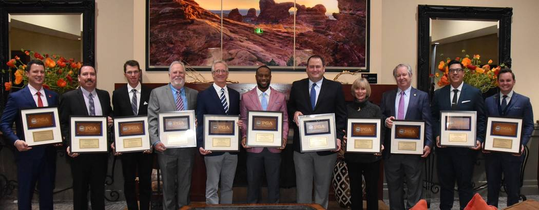It was an evening to honor Southern Nevada PGA of America professionals Jan. 14 at TPC Summerli ...