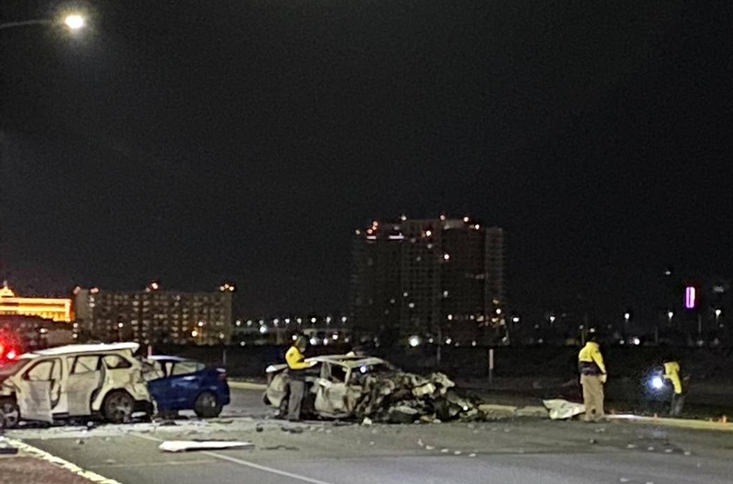 One motorist was killed and another was injured in a three-vehicle crash shortly before 2 a.m. ...