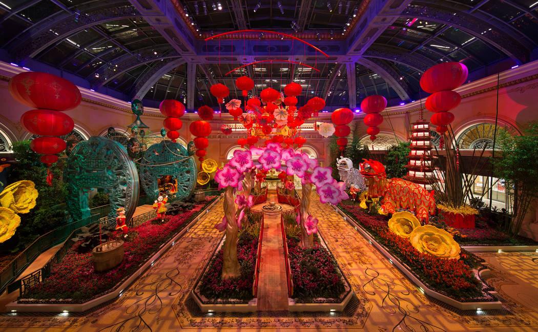 Lunar New Year at Bellagio Conservatory & Botanical Gardens (©Kelly McKeon;KellyCreative;Kelly ...