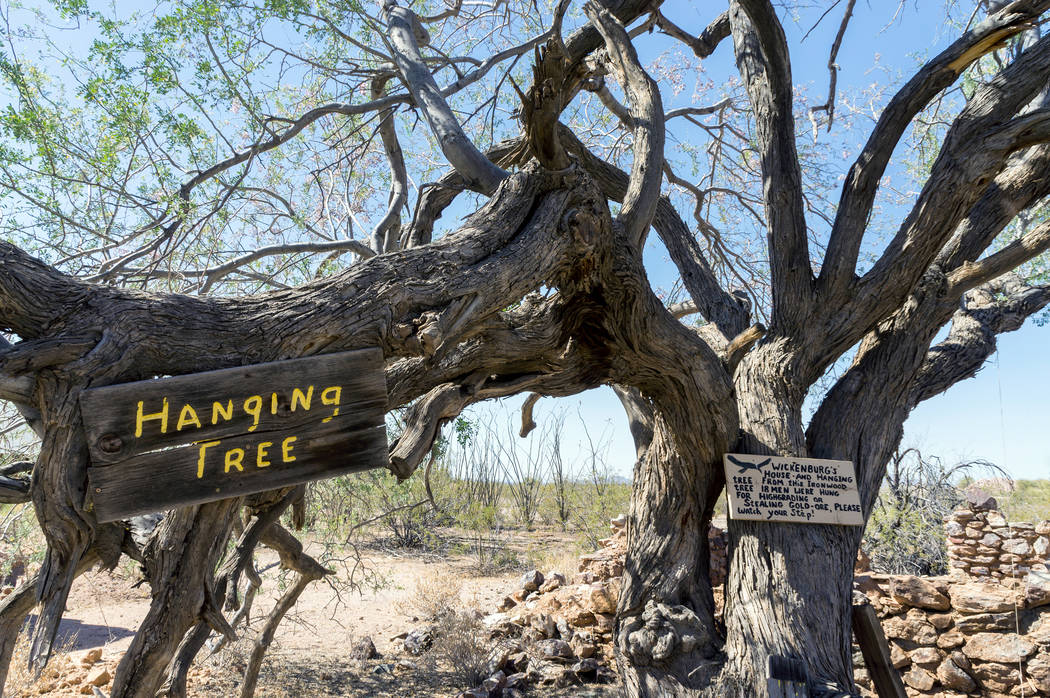 From the historic Vulture Mine gold mine in Maricopa County, Arizona. (Getty Images)