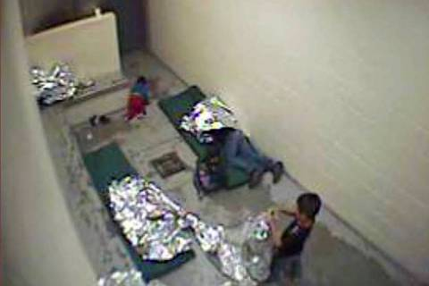 FILE - This Sept. 2015, file image made from U.S. Border Patrol surveillance video shows a chil ...