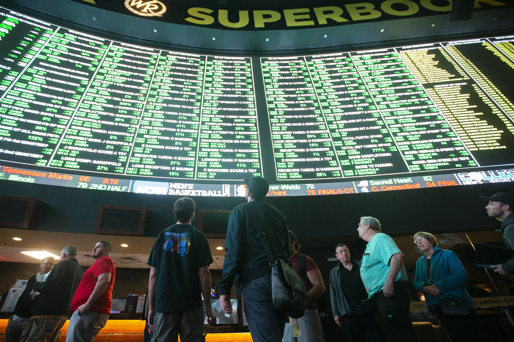 how to bet on superbowl in vegas