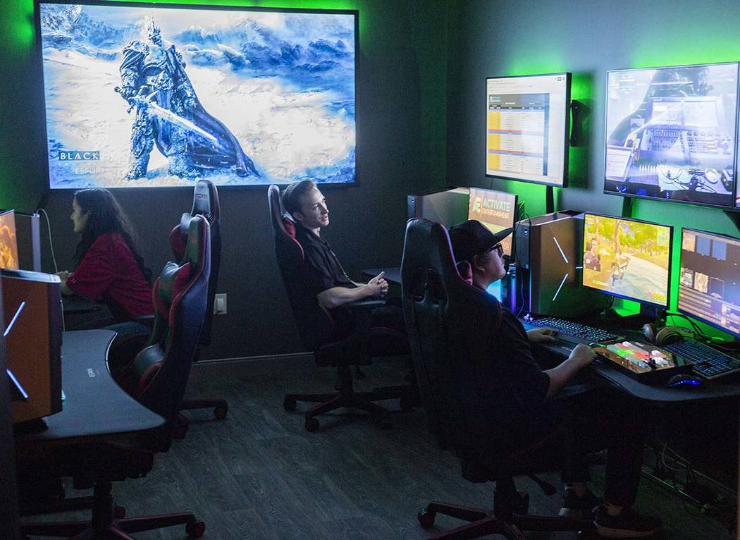 A live esports match is being produced by Activate Entertainment technical directors in the Har ...